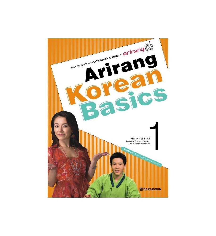 Arirang-Korean-Basics-libro facile coreano-Dosoguan- libreria