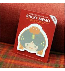 Korean bride - Sticky Memo