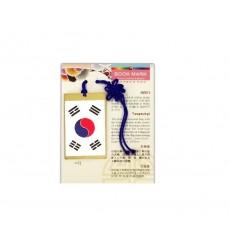 korean flag-bookmark
