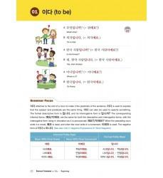 studiare-verbo-essere-in-coreano-libro-per-impararlo-korean-grammar-in-use-beginning