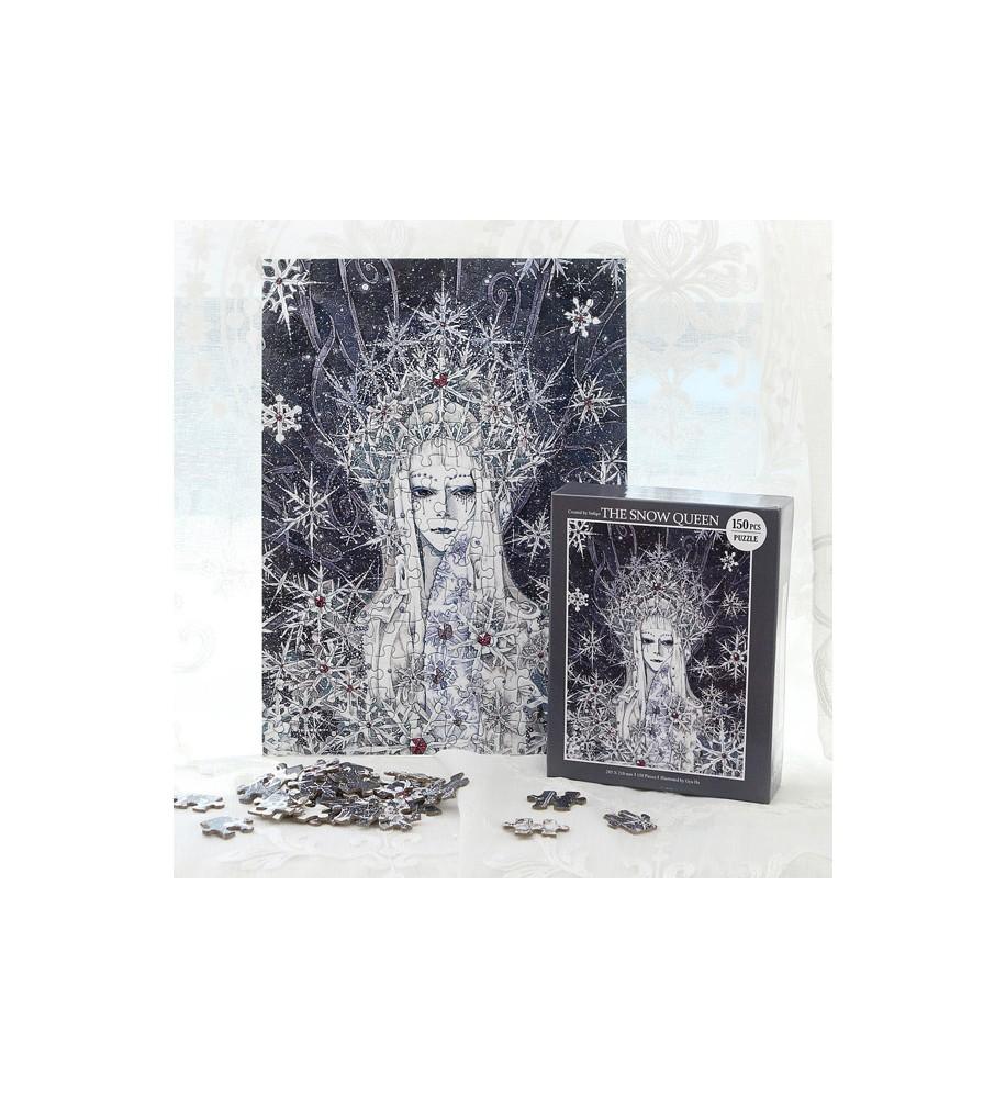 Regina-delle-Nevi-Puzzle-fiaba-gioco