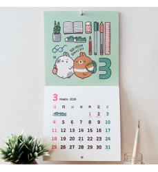 cute-2018-Calendario-kawaii – Molang
