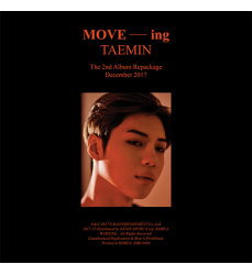 SHINEE-TAEMIN-2ND-ALBUM-REPACKAGE-MOVE-CD-acquisto-in-Italia