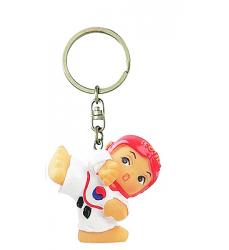 ragazza-taekwondo-portachiavi-keychain-gadget-girl