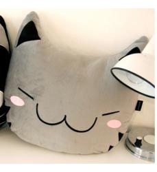 gatto-cuscino-pillow-gray-cat-buy-online-cute-korean-items