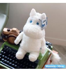 Mumin-seduto-peluche-vendita-online-Bianco-Moomin-Moumin-finlandese-Plush-Toy-Oggettistica-Coreana-Dosoguan