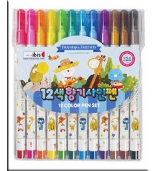 cute-set-of-scented-colours-korean-stationery-shop-kawaii-from-Italy-Dosoguan