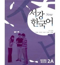 Lingua-Coreana-Libri-New-Sogang-Workbook-2A-CD-Vendita-Online-Dosoguan