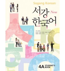New-Sogang-Korean-4A-Student's-Book-korean-books-shop-online-Dosoguan-bookstore-south-korean-korean-language-themed