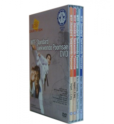 WTF-Standard-Taekwondo-Poomsae-4-DVD-BOXSET-Acquisto-online-Dosoguan-bookstore