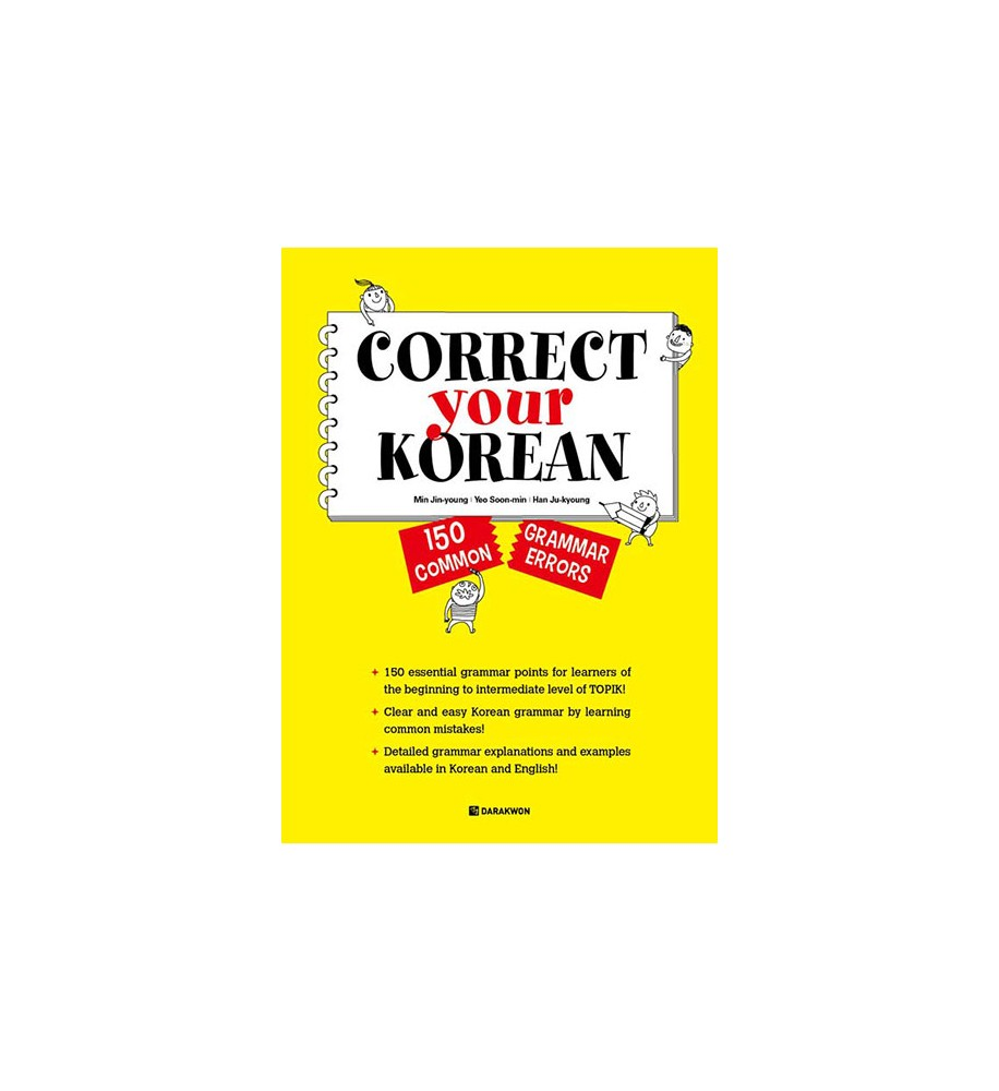 Correct_Your_Korean_150_Common_Grammar_Errors_korean-books-Darakwon-books