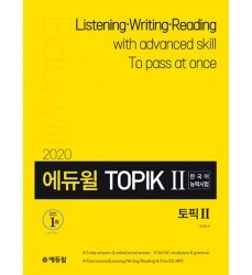 2020-Topik-II-Listening-Writing-Reading-book-Eduwill