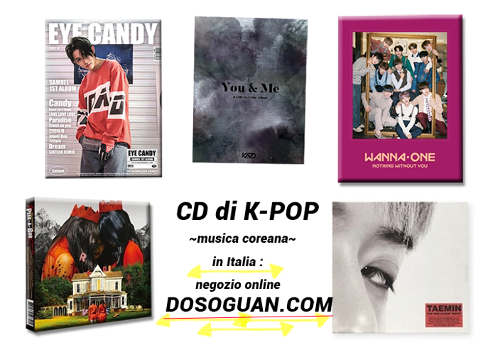 CD-di-K-POP-in-Italia-negozio-online-comprare-Taemin-Super-Junior-BTS-gruppi-KPOP-dosoguan