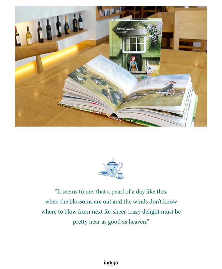 Età-meravigliosa Anna-di-Avonlea-edizione-coreana-illustrata-in-lingua-inglese-Indigo-brand-libro