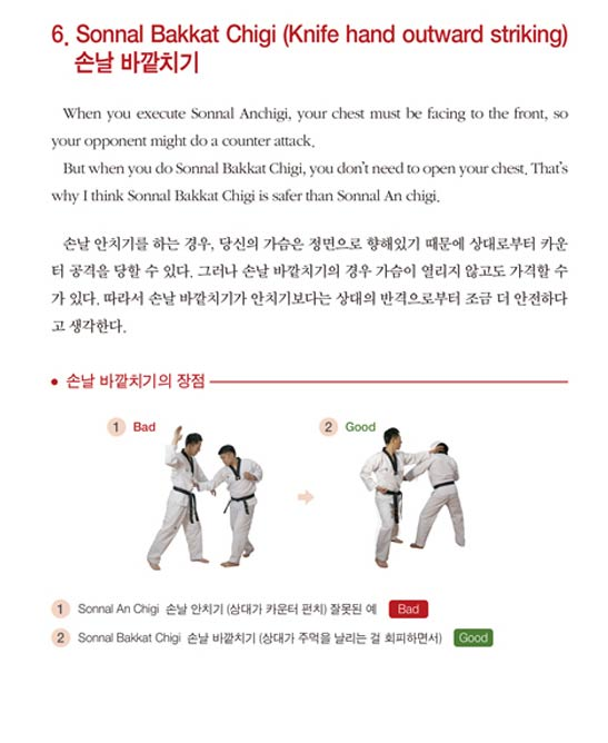 Taekwondo-self-defence-tips-korean-book