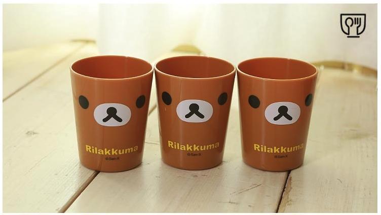 set-3-bicchieri-Cucina-Rilakkuma-oggettistica-vendita-in-Italia-Dosoguan