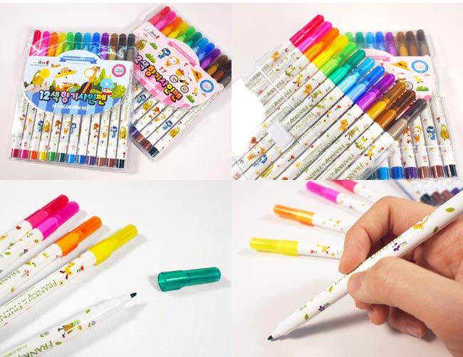 colori-pennarelli-cartoleria-coreana-Dosoguan