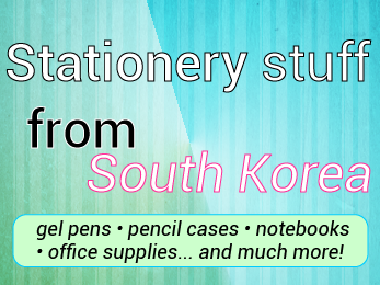korean -lovely- stationery-items